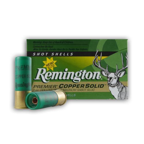 12 Ga 2 3 4 Quot 1 Oz Copper Solid Sabot Slug Remington