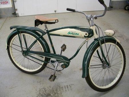 1958 Schwinn Hornet Bicycle