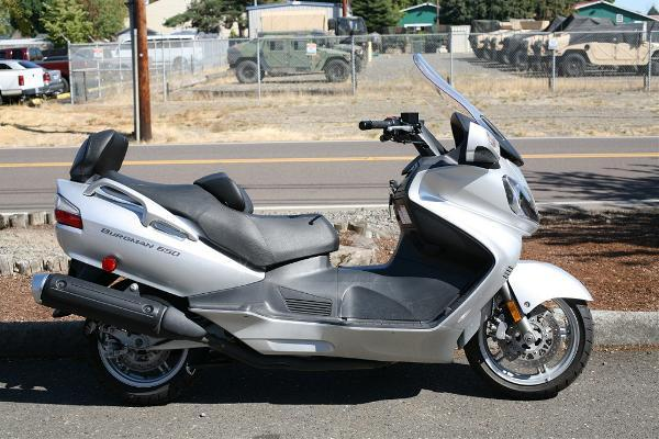2005 suzuki burgman 650 for sale in portland oregon classified. Black Bedroom Furniture Sets. Home Design Ideas