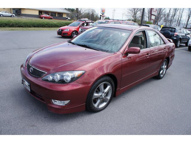 2006 toyota camry se v6 low mileage t15710 red for sale in. Black Bedroom Furniture Sets. Home Design Ideas