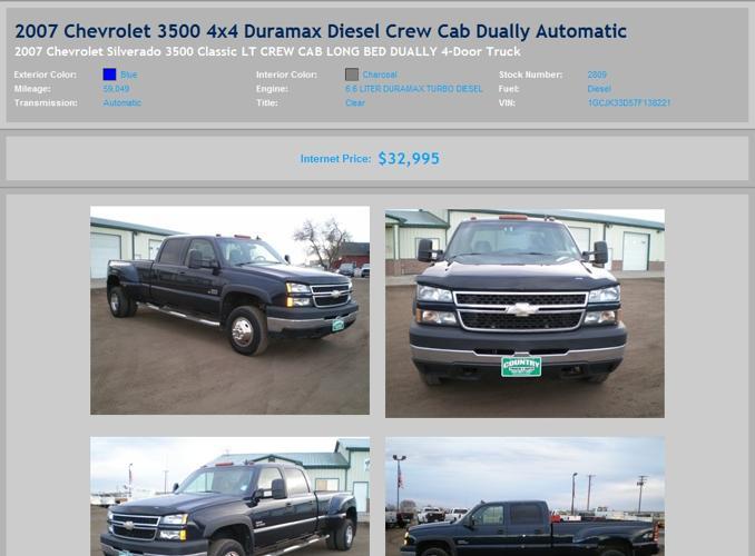 2007 Chevy Diesel Dually For Sale.html | Autos Weblog