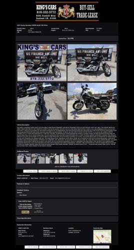 2007 Harley Davidson Super Glide Fxd Dyna