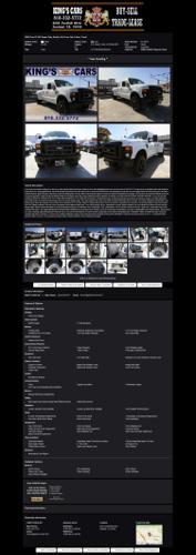 2008 Ford F-350 Super Duty Dually 4X4 Crew Cab