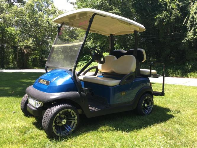 2011 Club Car Precedent Electric Golf Cart - Blue