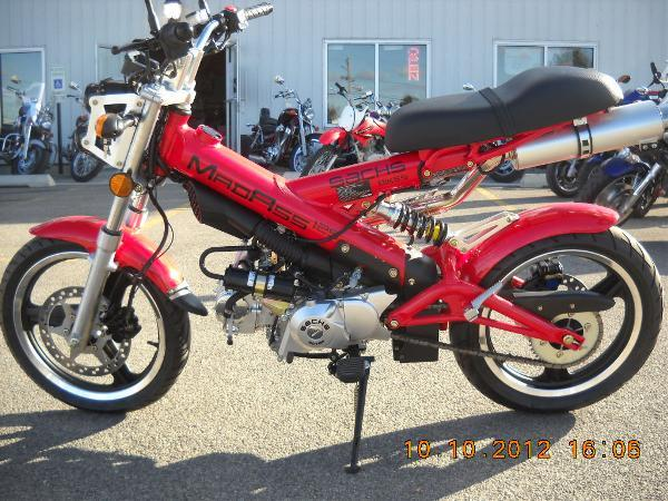 2011 sachs madass 125 for sale in rockford illinois. Black Bedroom Furniture Sets. Home Design Ideas