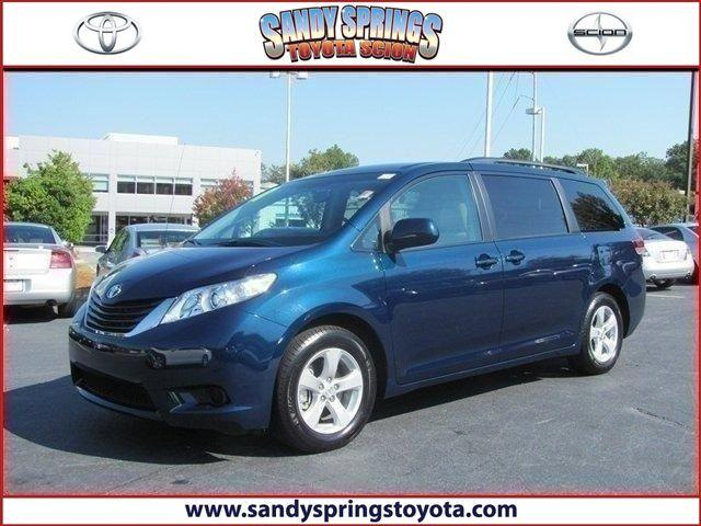 2011 toyota sienna 94540 for sale in atlanta georgia classified. Black Bedroom Furniture Sets. Home Design Ideas