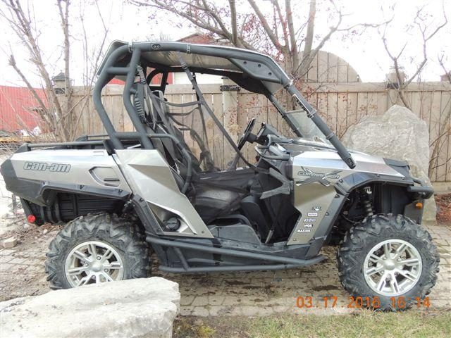 2013 Can-Am COMMANDER 1000 X Carbon Black