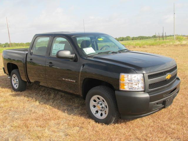 2013 chevrolet silverado 1500 work truck crew cab pickup autos post. Black Bedroom Furniture Sets. Home Design Ideas