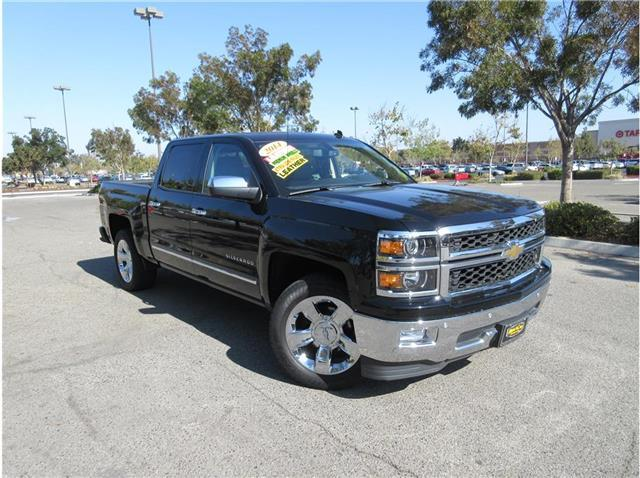 2014 Chevrolet Silverado 1500 LTZ Pickup 4D 6 1/2 ft