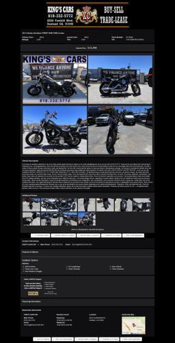 2014 Harley Davidson Street Bob Fxdb