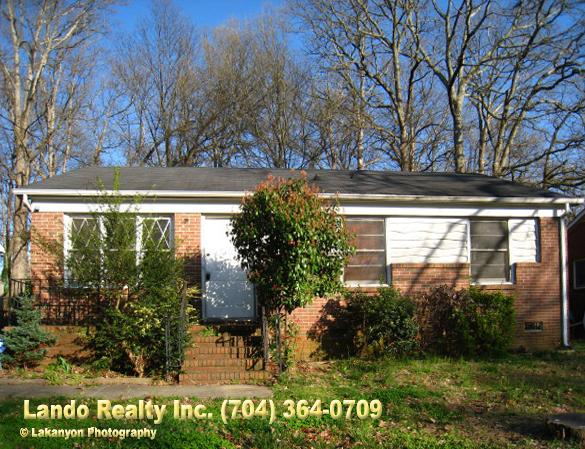3br Charming 3 Bedroom Ranch Rental House In Charlotte Oakhurst Area For 650