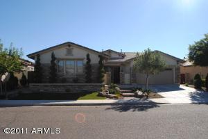 5br beautiful basement home in gilbert gated community for Homes with basements in arizona