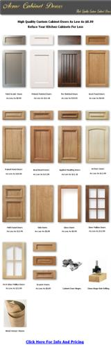 $8.89, Unfinished Kitchen Cabinet Doors As Low As $8.89