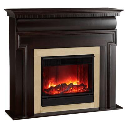 Cheap Real Flame Mt Vernon 4 39 Electric Fireplace Dark Walnut Finish For Sales For Sale In