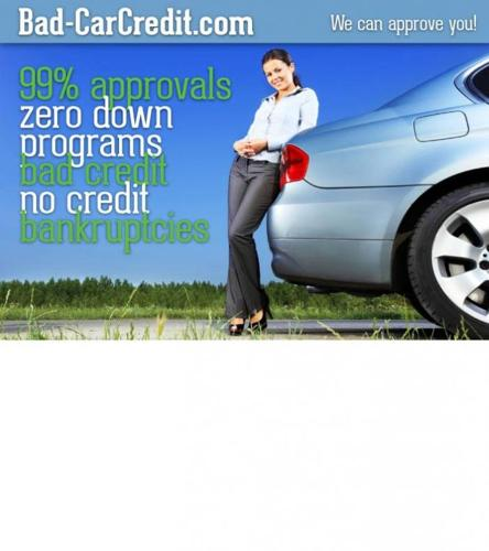 ► you'll get APPROVED, even with THREE REPO's on your CREDIT REPORT!!!