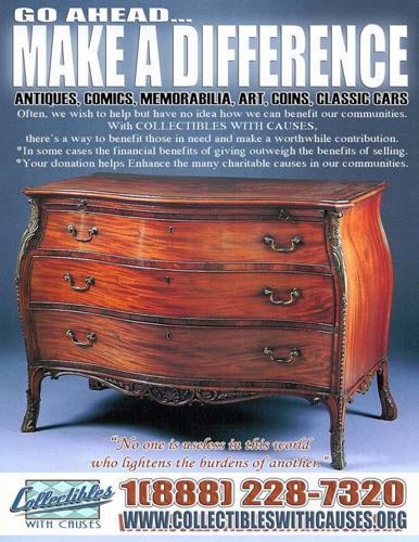 Antique donation - Collectibles - Memorabilia - Donate Antiques - Classic cars! 100% TAX DEDUCTIBLE!