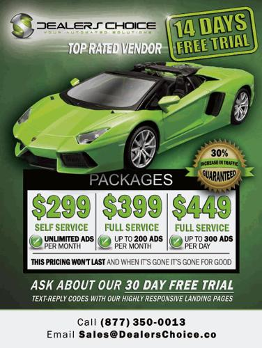 Auto Dealer Posting Software - Craigslist - 14 Day Trial!