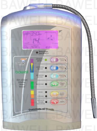 Bawell antioxidant alkaline drinking water ionizer filter system prevents cancer makes you lose fat