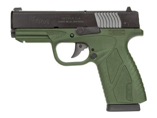 Bersa BP9CC OD Green 9mm Concealed Carry