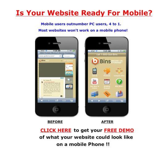 Best mobile websites Columbus