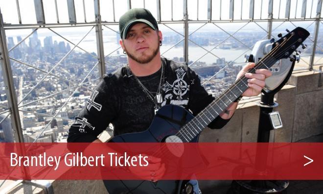 Brantley Gilbert Birmingham Tickets Concert - Oak Mountain Amphitheatre - AL, AL