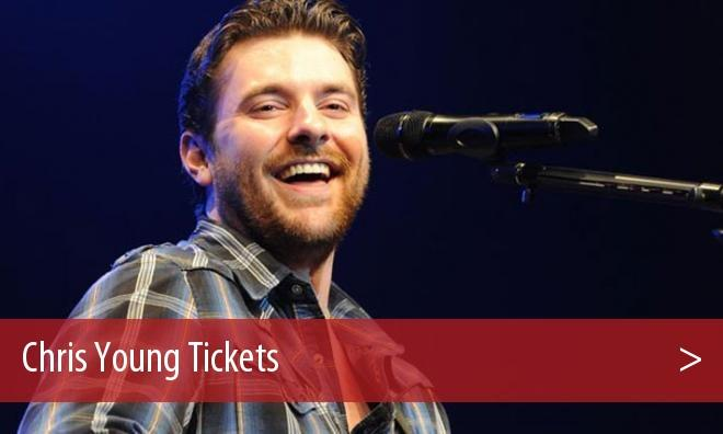 Chris Young Salisbury Tickets Concert - Wicomico Civic Center, MD