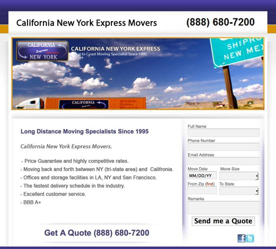 CNE - long distance moving company companies long beach 888-586-5570