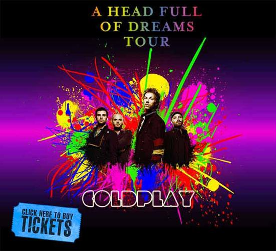 COLDPLAY Tour Tickets - Buy Coldplay Tickets Now! Save Big HERE