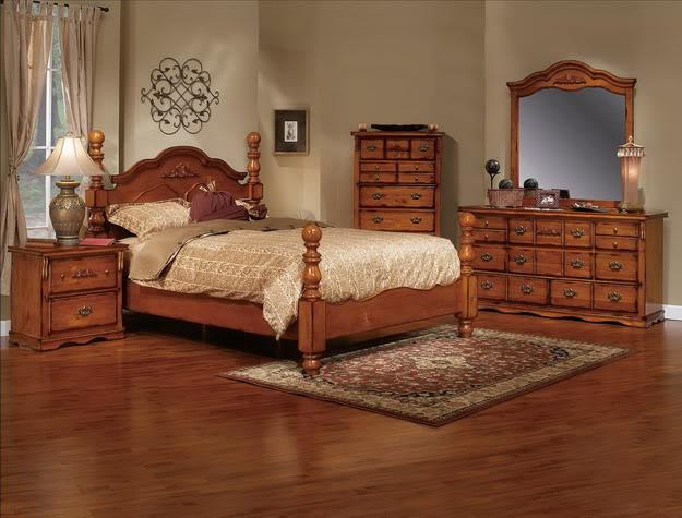 Coventry solid wood bedroom set 7pc 799 we guarantee the for Oak bedroom furniture