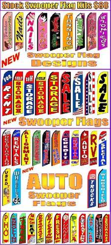 Custom flags, Feather flag, Air dancer, Pennant strings, Pizza flag, USA flag, Pennants