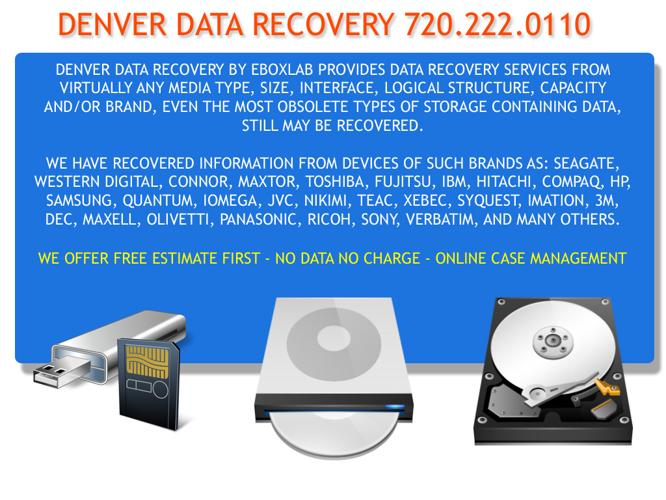 Data Recovery - No Data No Charge
