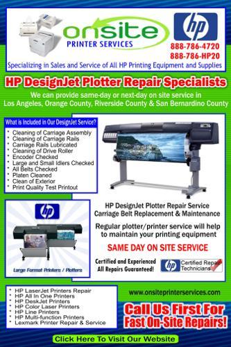 Designjet Repair   Services