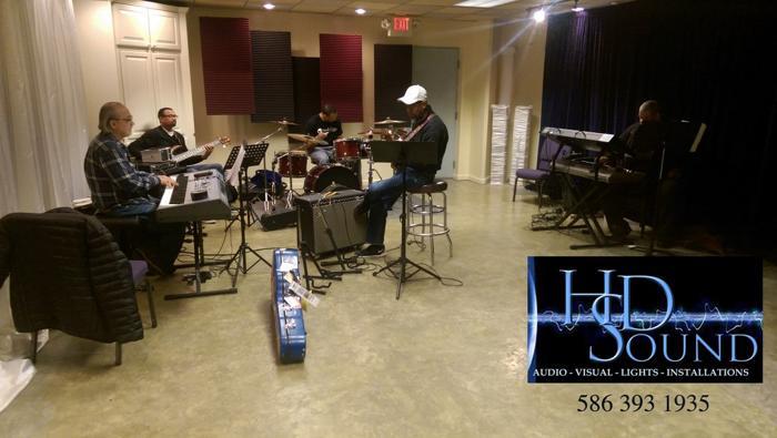 ?? Detroit?s Best Rehearsal Studio   586 393 1935   Studio Rehearsal   Detroit, MI   Full PA System