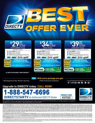 Direct tv Best Offer Ever