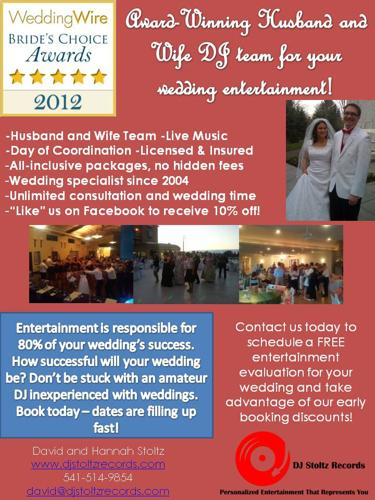 DJ team dedicated to making your wedding a success!