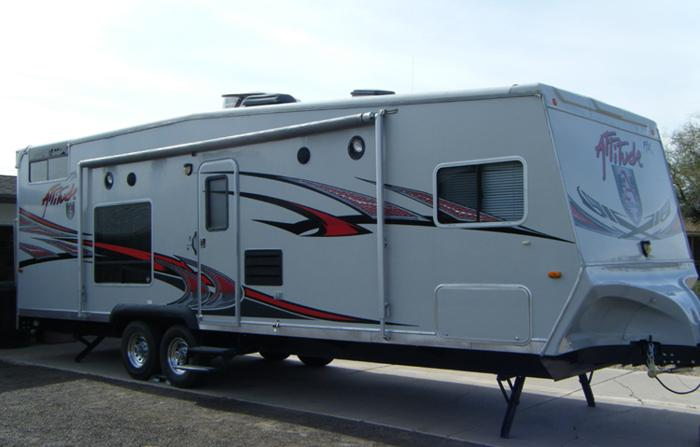 Eclipse Attitude Toy Hauler 2009 27ft For Sale In