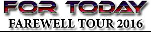 FOR TODAY Band Concert Birmingham Tickets 2016 Farewell Tour Zydeco