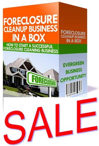 Special: Foreclosure Cleanup Business ****SALE****