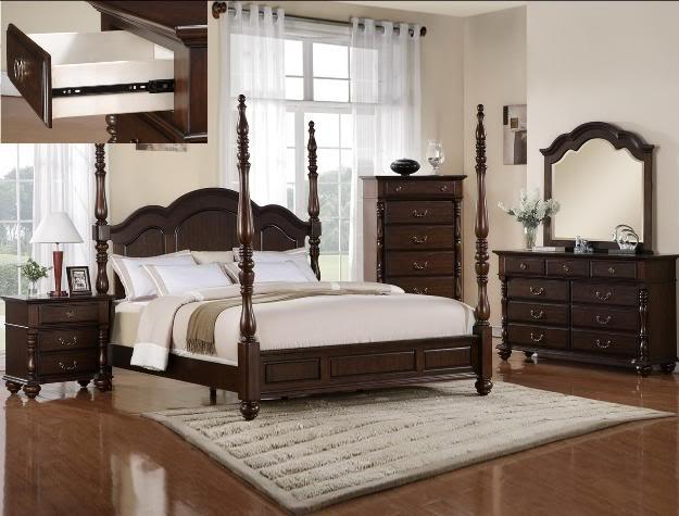 poster queen bedroom set great deal in ocala florida for sale