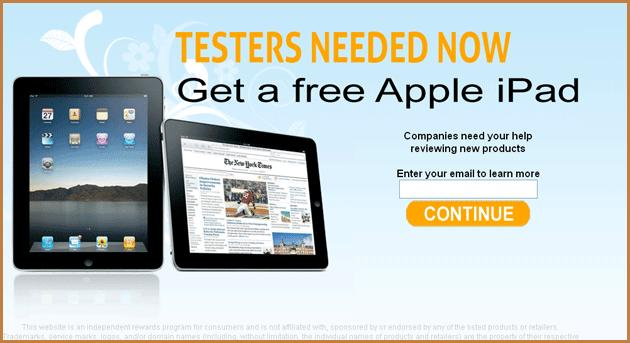 Get This accomplished FREE iPad 2 pronto !