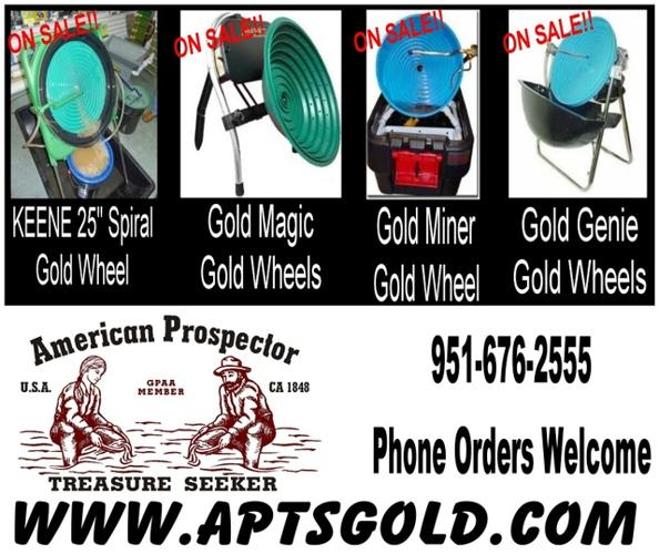 Sluice Box, Gold Wheel, Panning Supplies in Boise, Idaho For Sale