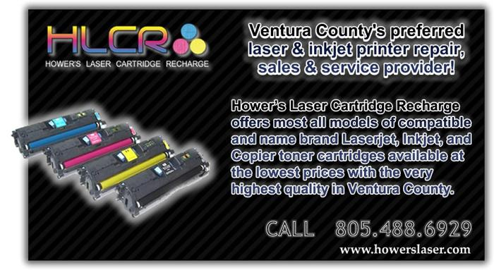 HLCR Best HQ Toner Supply & Printer Repair Oxnard Ventura Camarillo Ojai