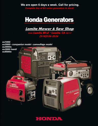 ? HONDA Inverter Generators: Super Quiet, Portable Power
