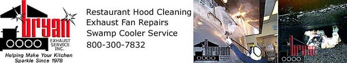 Hood Cleaning, Exhaust Fan Repair, Swamp Cooler Service In Ojai (800)300-7832