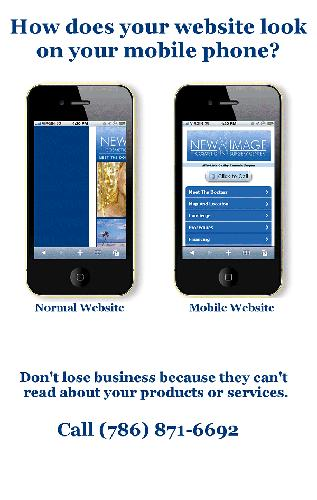 Is Your Business Website Optimized for Cell Phones?