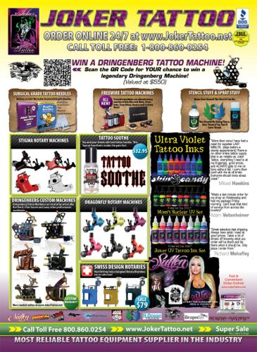 Joker tattoo supply sale for sale in carbondale illinois for Classified tattoo supply