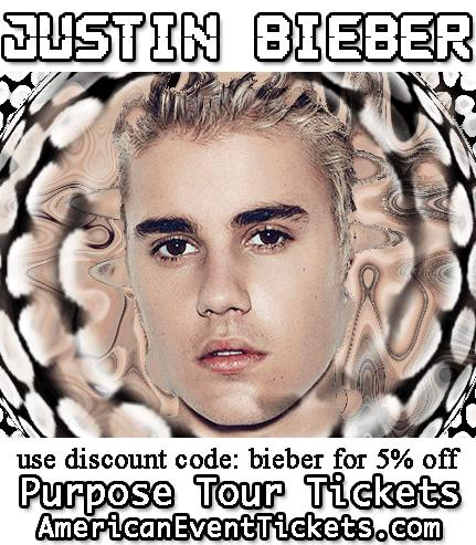 Justin Bieber 2016 Buffalo Tickets VIP Packages