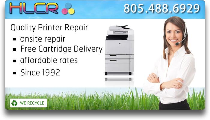 Laser Printer Repair by HLCR 20 Years Exp. Oxnard Ventura Camarillo Ojai