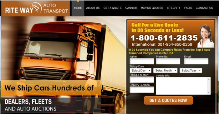? Licensed & Insured Guaranteed Auto Shipping Services ?