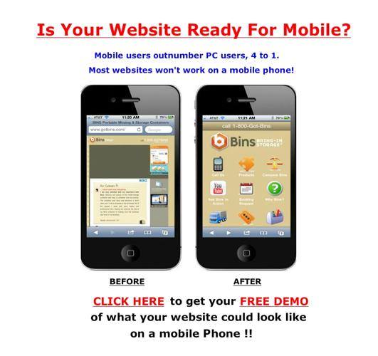 Make mobile website Columbus